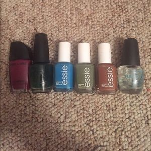 Essie Other - Nail polish bundle ! Essie, OPI W NAIL CLIPPER
