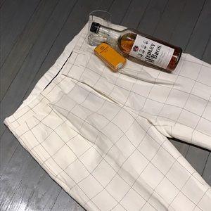 Polo by Ralph Lauren Other - Ralph Lauren Golf white windowpane linen pants