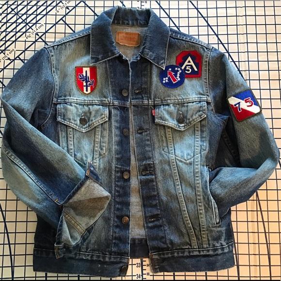 Men's LEVI's custom denim jacket