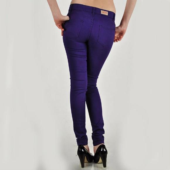 45b46317547 🌺🌺Plus Size Purple Jeans