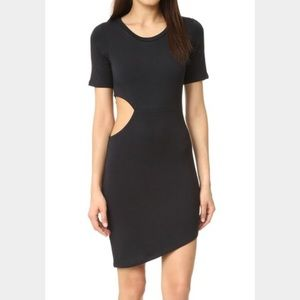 LNA Dresses & Skirts - LNA Short Sleeve Cut Out Dress