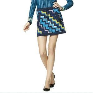 Missoni Dresses & Skirts - {Missoni For Target Chevron Knit Navy Skirt}