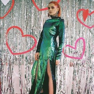 Isolated Heroes Sequin High slit xx Dollskill