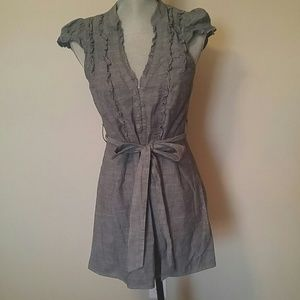 Fei brand from Anthropologie chambray dress