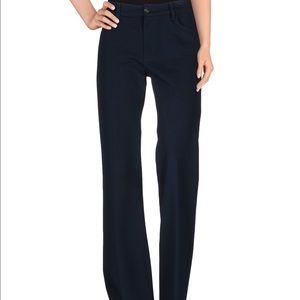 TAG Elements Navy knit Flare Leg Pants NWT