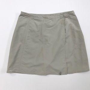Royal Robbins Pants - Royal Robbins khaki tan mini skort skirt