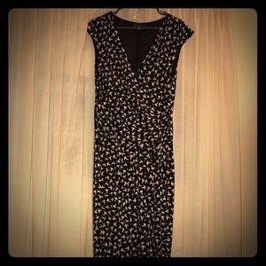 Adrianna Papell size 16 faux wrap dress