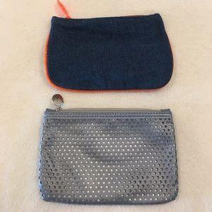 Handbags - 2 NEW Makeup Bags - bundle