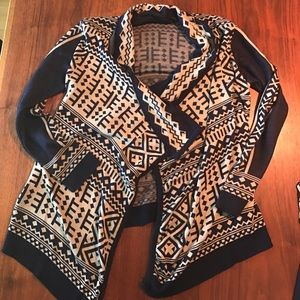 A Knitch Above Sweaters - Aztec print sweater