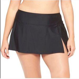 ava & viv Other - New plus size swim skirt in black 16W/18W