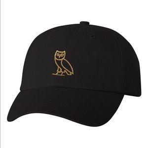 eb6cddf4 OVO Classic Owl Black/Gold Dad Cap NWT