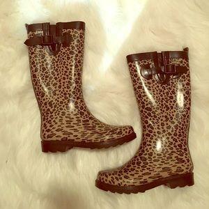 Capelli of New York Shoes - Capelli leopard rain boots