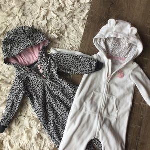 Carter's Other - 2 carters coveralls