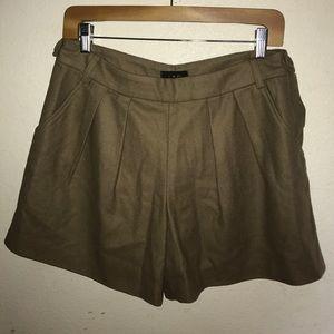 A.P.C. Pants - A.P.C. Designer Wool Herringbone Shorts Size 8
