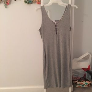 Charlotte Russe Dresses & Skirts - Grey Form Fitting Dress