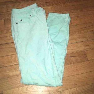 Vineyard Vines Pants - Baby Blue Vineyard Vines Skinny Corduroy Pants