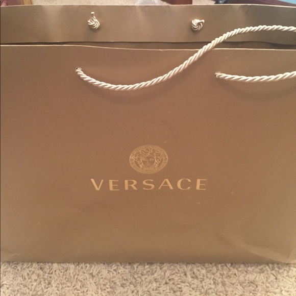 0a944360c38 Authentic Versace Large Shopping Bag! M 58ec30da56b2d60bae02684a