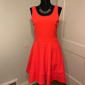 AKIRA Dresses & Skirts - Akira Chicago Red Label Coral A- Line Dress