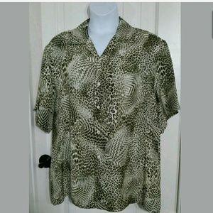Brioni  Other - Men's Brioni Dress Shirt Button Up Italian Rayon L
