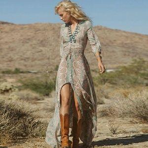 Dresses & Skirts - Bohemian Maxi Dress !!!!