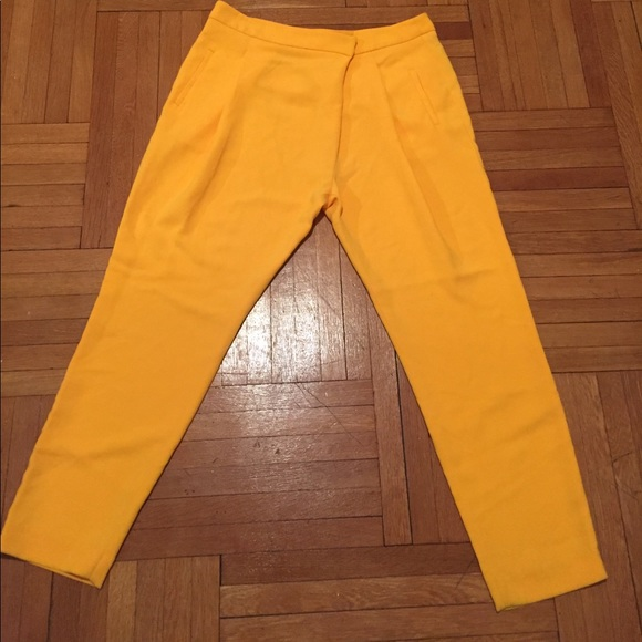 Zara Pants - Golden Yellow Pants