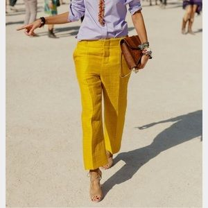 Golden Yellow Pants