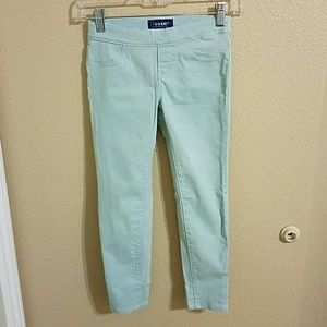 Old Navy Other - Old Navy NWOT Mint Blue Jeggings Size 8 🎉HP🎉