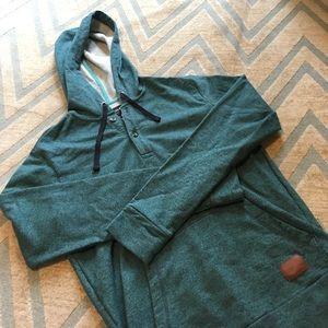 Nixon Tops - Nixon 3/4 button down hoodie