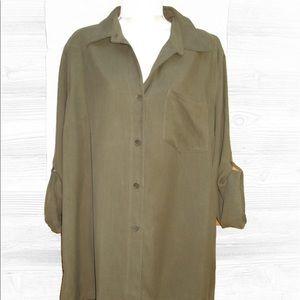 Lauren Ralph Lauren Tops - NEW Lauren Ralph Lauren Plus Size  Silk Blouse