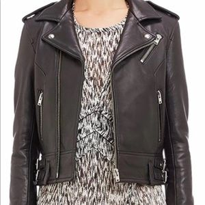"Iro ""chayama"" leather jacket"