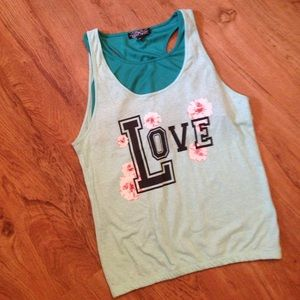 Almost Famous Tops - Love Tank