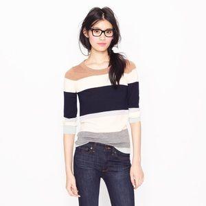 *SOLD* Jcrew tippi colorblock sweater