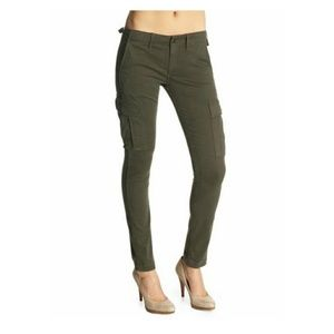 AG Adriano Goldschmied Pants - AG slim cargo skinny straight pants size 28