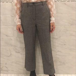 Brandy Melville Pants - Vintage Plaid Trouser Pants