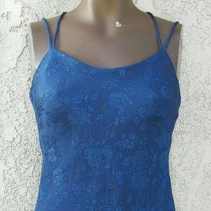 WINDSOR Dresses & Skirts - WINDSOR BLUE FLORAL MAXI DRESS