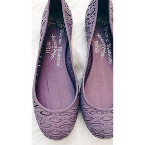 Vivienne Westwood Shoes - Vivienne Westwood anglomania Melissa Flats 8