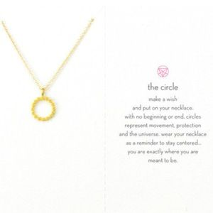 Dogeared Jewelry - The Circle Necklace