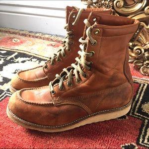 Vintage Work Boots Irish Setter size 7.5-8