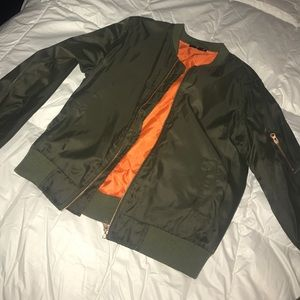 Girls Tour Bomber Jacket