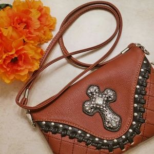 Rustic Couture's? cross body purse