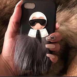 Accessories - Chanel's Karl Lagerfeld iPhone Case 🖤