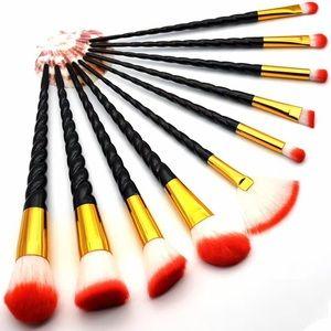 Other - New 10pcs Beauty Soft Makeup Brushes Set