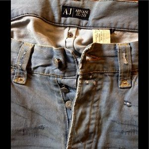 Armani Jeans Other - Armani distressed jeans