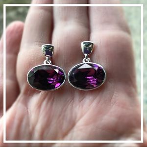 Jewelry - Handcrafted earrings with Swarovski crystal #181