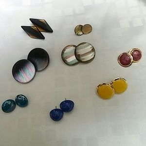 Fun and Bold Vintage Earrings