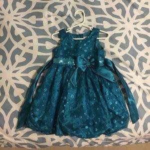 Gorgeous teal dress size 3T