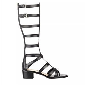 Mark Fisher LTD Shoes - Mark Fisher Gladiator Sandal Black Summer Boots