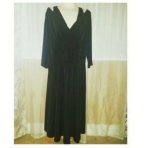 Lane Bryant Dresses & Skirts - Lane Bryant black dress 22/24
