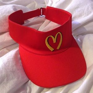 Accessories - MOSCHINO MCDONALDS VISOR RARE