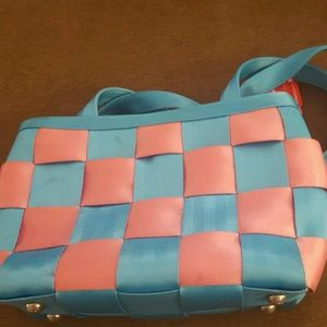 Handbags - Harvey Seatbelt Purse Cotton Candy Edition